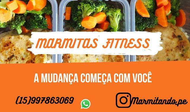 Marmitas Fitness - Vida Saudável, OpçãoPrática e Rápida