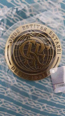 Moeda medalha Flamengo Final mundial  - Foto 2