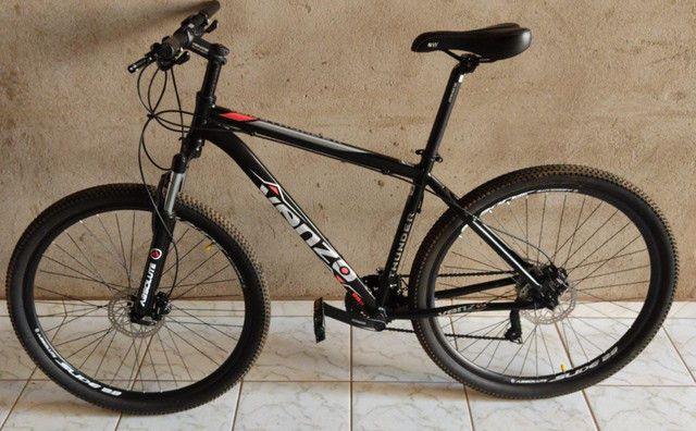 Bike a venda, menos de um mês de uso. - Foto 4
