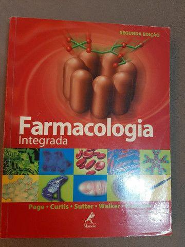 Livros Anatomia e Farmacologia (3 livros)