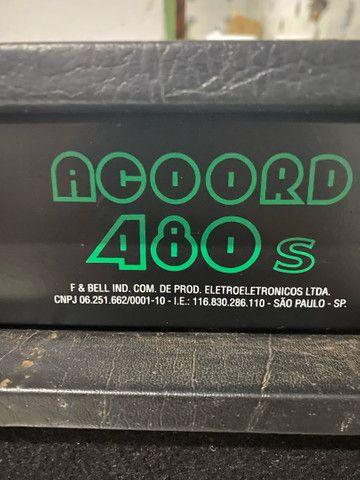 Caixa amplificada Moug Acoord 480S - Foto 5