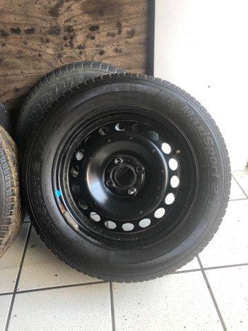 2 Aros e 2 pneus 195 65 15 - Foto 2