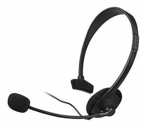 Fone c/ microfone p/ xbox360