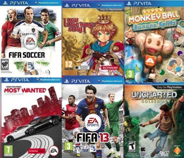 Jogos PS3 e PSvita originais - Foto 3