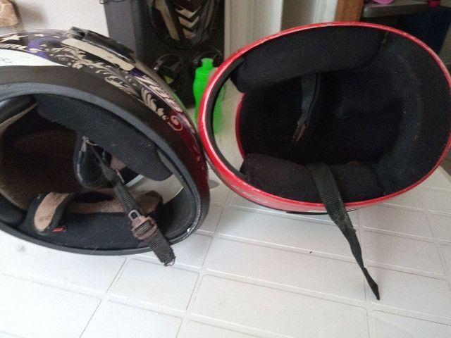 Vendo esses dois capacete - Foto 3
