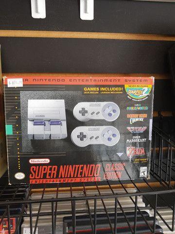 Super Nintendo Clássic Edition original