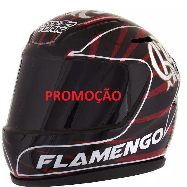 Cofre De Moedas Mini Capacete Flamengo Pro Tork - Foto 2