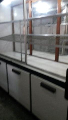 Expositor de pães para padaria mercado