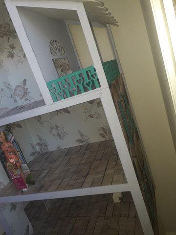 Casa boneca barbie mdf grande - Foto 4