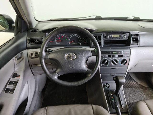 Toyota Corolla XLI 1.6 2008 automático - Foto 10