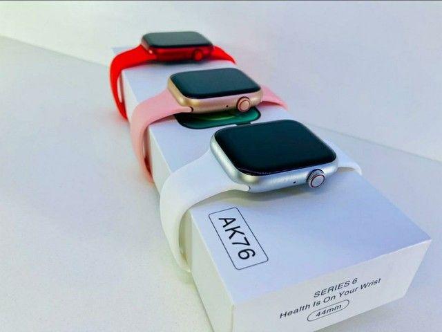 Smartwatch lançamento 2021 com jogo  - Foto 3