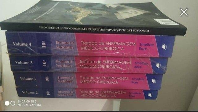 Coleção dos Livros de Brunner Médico-Cirurgico - Foto 2