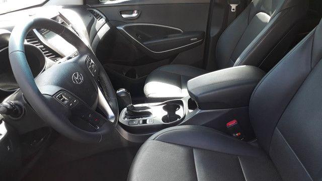 Hyundai Santa Fé 3.3 V6 2018 Top Linha 07 Lugares Impecável - Foto 14