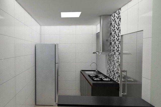 Apartamento 02 quartos com suíte bairro Santa Terezinha - Foto 7