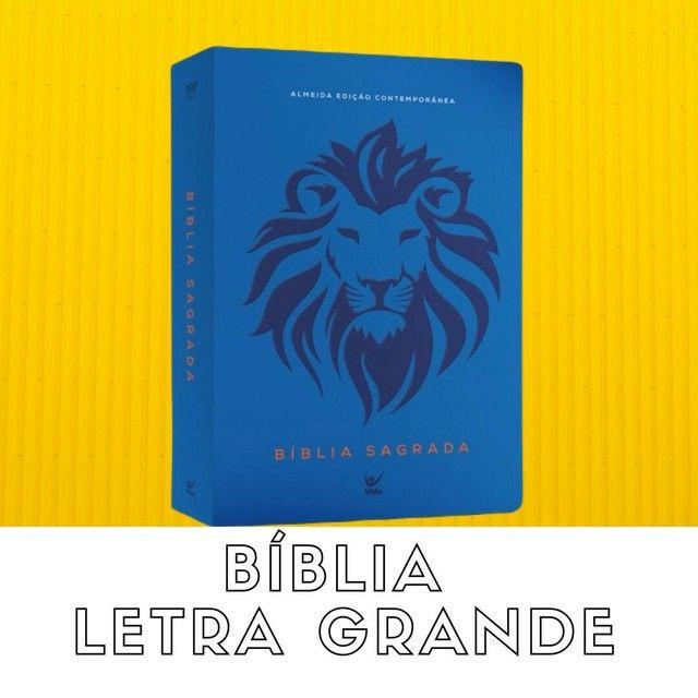 Bíblias letra grande. - Foto 3