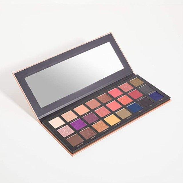 Acabando: Paleta de sombras 24 cores, Océane, com 11 Tons Opacos e 13 Cintilantes - Foto 4