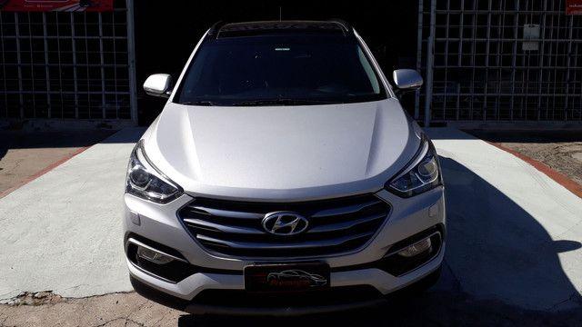 Hyundai Santa Fé 3.3 V6 2018 Top Linha 07 Lugares Impecável - Foto 5