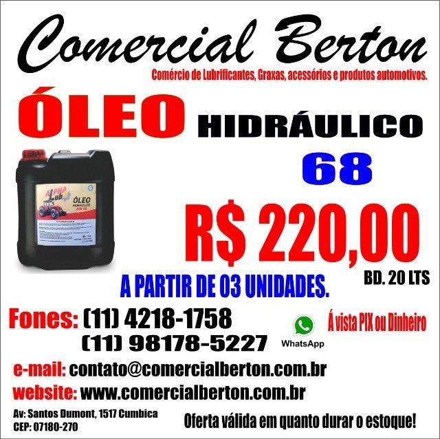 Óleo hidráulico 68 AW
