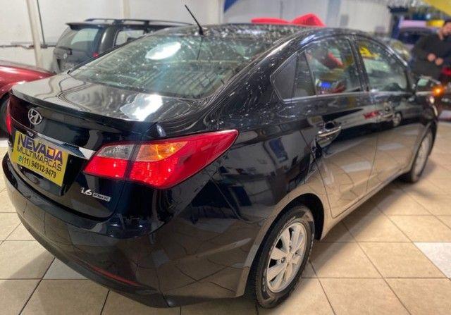 Hyundai Hb20 Sedan 2015 1.6 Flex Comfort Manual Preto Estudo Troca E Financio - Foto 4