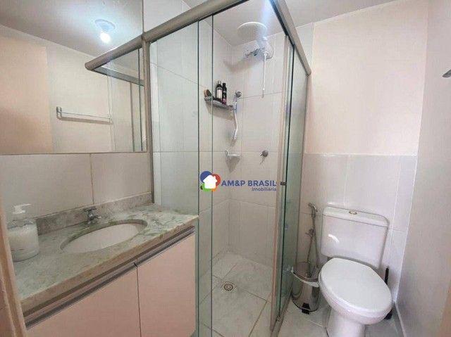 Apartamento com 2 dormitórios à venda, 58 m² por R$ 225.000,00 - Setor Negrão de Lima - Go - Foto 7