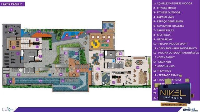 Apartamento com 2 dormitórios à venda, 67 m² por R$ 444.603 - Setor Oeste - Goiânia/GO - Foto 15