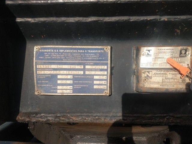 Bitrem tanque inox impecável Aceito caminhonete diesel no negócio - Foto 3
