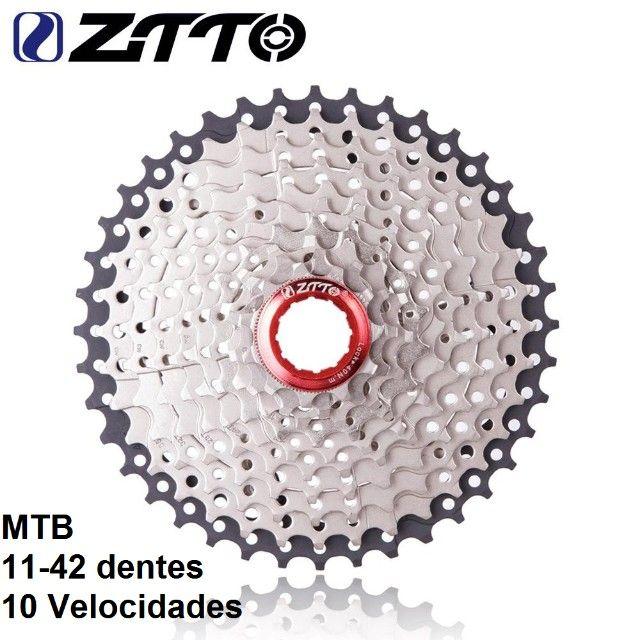 Catraca ZTTO 11-42 dentes - 10 Velocidades - Foto 5
