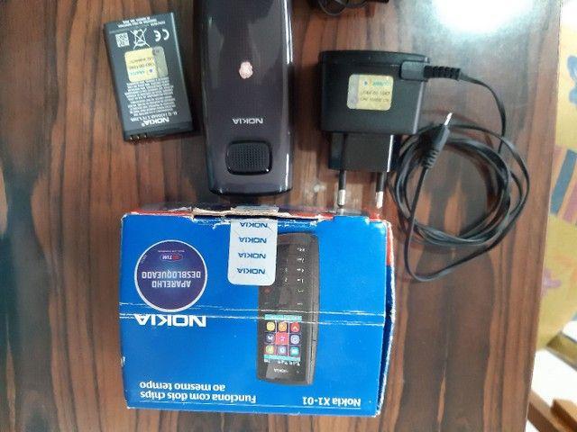 Celular Nokia e motorola