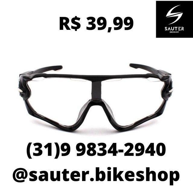 Óculos Ciclismo Sol e Transparente  - Foto 4