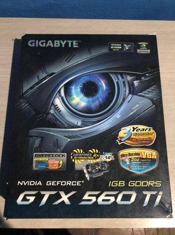 Placa de Vídeo GTX 560 TI queimada