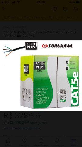 Vendo Caixa de rede cat 5e branco soho plus furukawa