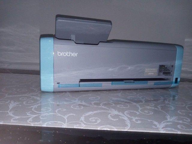Impressora de Corte nova, modelo brother SDX125 - Foto 2