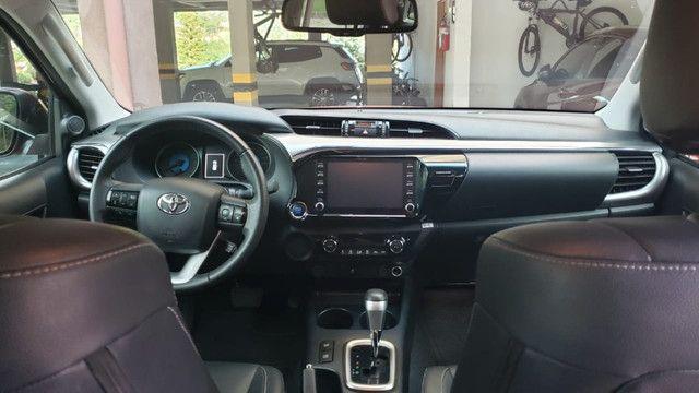 Toyota Hilux SRV 4X2 - Flex + GVN - Foto 4
