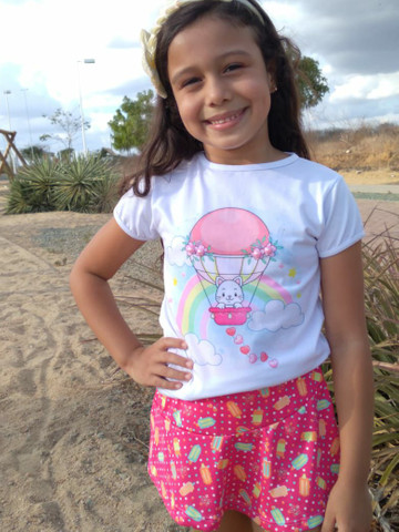 Blusinhas infantis Bella princess óptimo preço pra loja de dez  - Foto 3