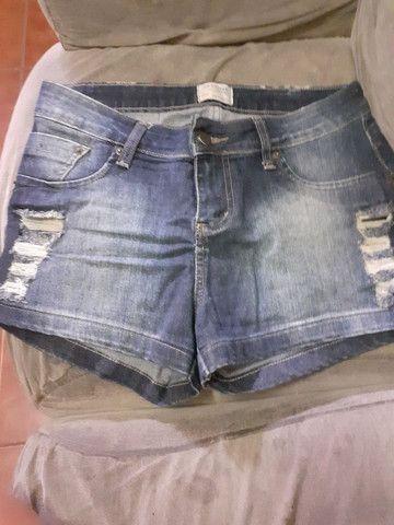 Short jeans veste 40