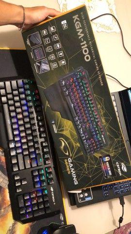 Teclado gamer KGM-1100 - Foto 2