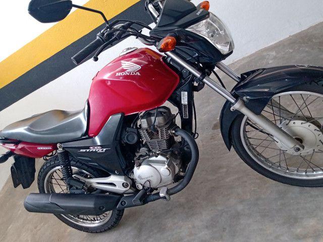 CG 150 start excelente preço impecável 12 X no cartão troco carro ou moto - Foto 3