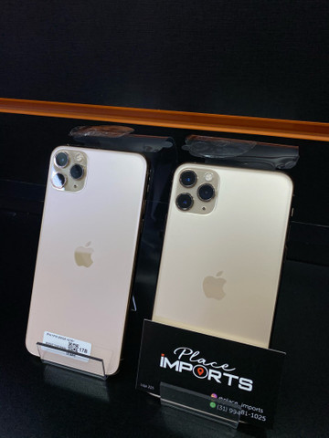 IMPERDÍVEL iPhone 11 Pro Max 256 gold, loja física  - Foto 2