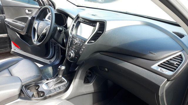 Hyundai Santa Fé 3.3 V6 2018 Top Linha 07 Lugares Impecável - Foto 11
