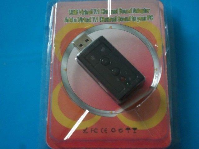 Adaptador placa de som 2 canais R$11,00
