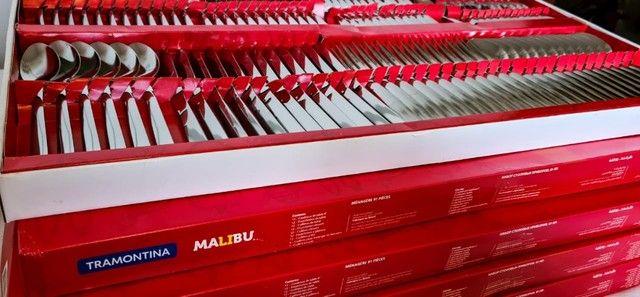 Faqueiro Tramontina Malibu 91 peças - Foto 2