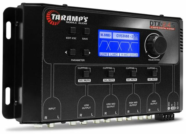 Crossover Digital taramps 4 vias