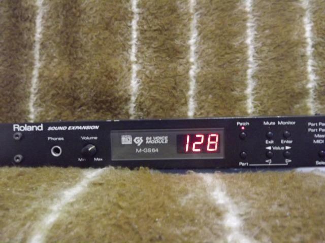 Módulo Roland Sound Canvas Sc-88 Rack M-gs64+fretegrátis