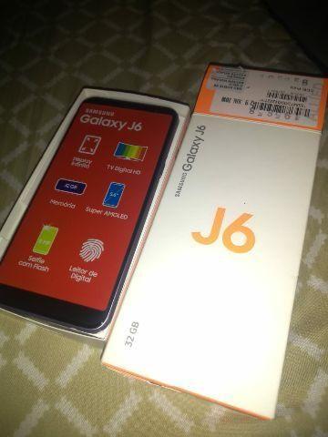 Galaxy J6 nunca usado