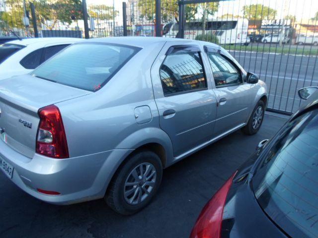 Renault Logan 1.0 AUTHENTIC FLEX COMPLETO*PLACA I * FINANCIO