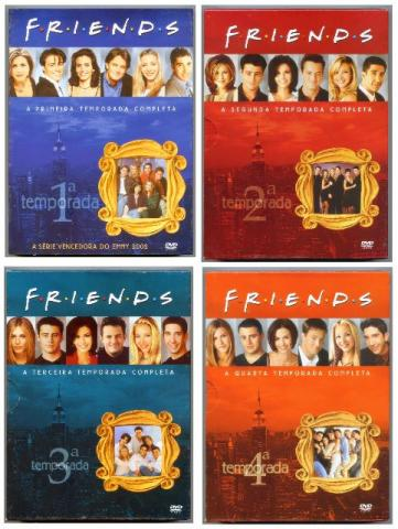 Friends Série TV 10 Temporadas DVDs Originais Com Caixas