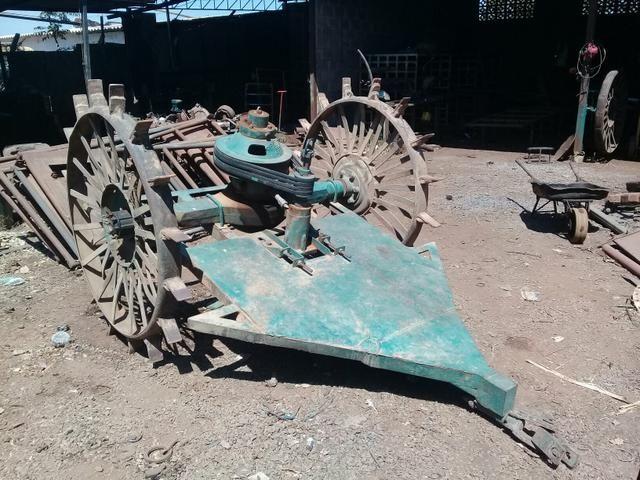Vendo ou troco por gado, roçadeira Avaré SP ll toda revisada - Foto 2