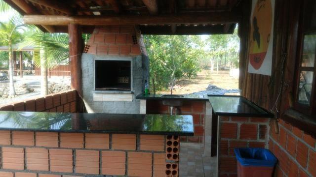 Chácara com Duas Casas rústicas (6 quartos), lado do Rio Palmital - Foto 10
