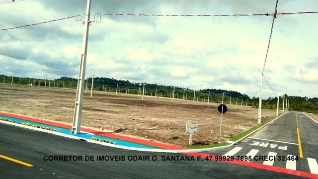 Lotes Prontos Para Construir Parcelas 650 Reais Direto Sem Entrada Araquari - Foto 5