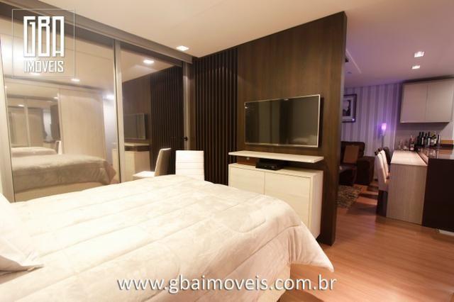 Studio Residence 100% mobiliado, 1 dorm, sacada e 1 vaga - Pelotas/RS - Foto 9